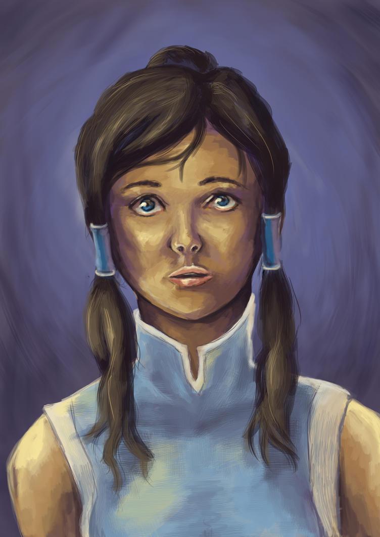 Korra Portrait (B1) by thetoaster