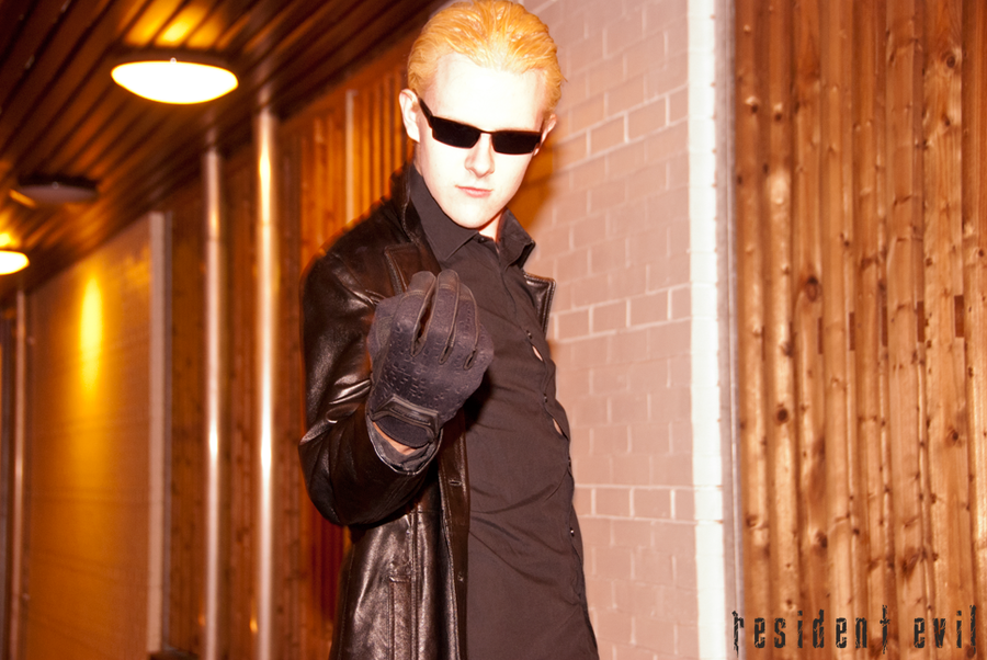 Albert Wesker Resident Evil: You will give me... by ManticoreEX