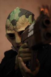 Thane Krios Mass Effect Cosplay: Take Aim by ManticoreEX