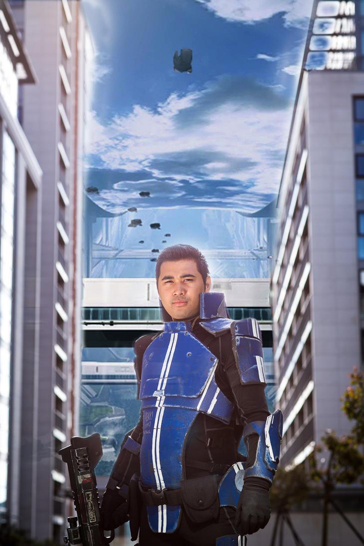 Kaidan Alenko Cosplay Mass Effect 3  Citadel Glory by ManticoreEX