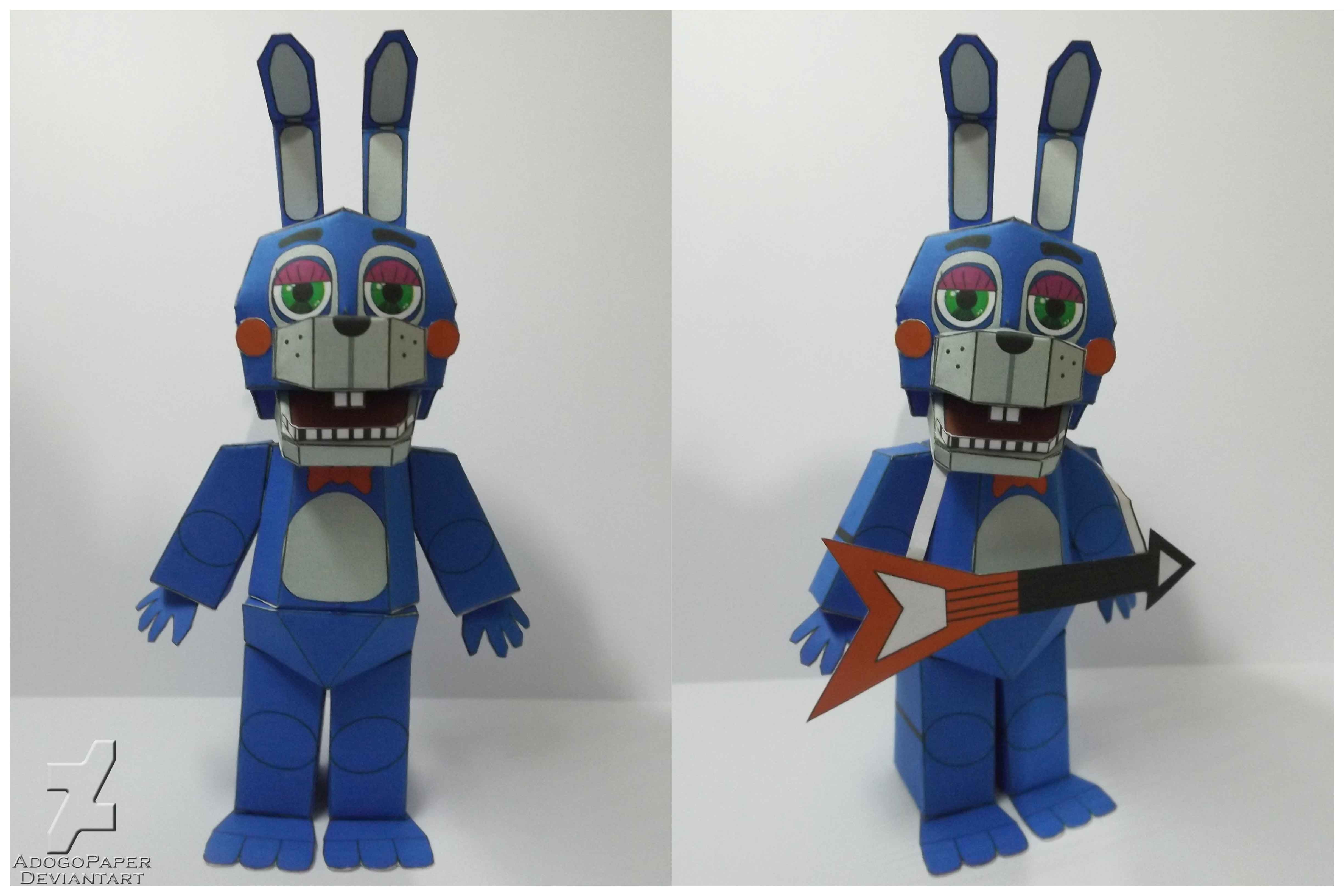How To Make Toy Bonnie Minecraft Youtube