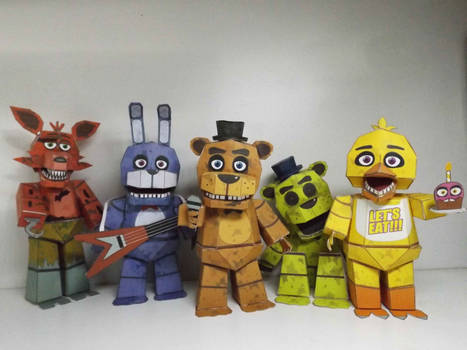 Five Nigths at Freddy's papercraft