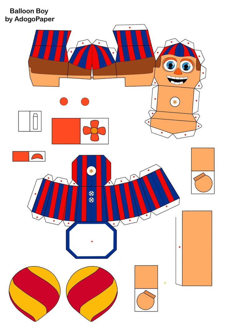 Coloring pages f naf sl coloring pages f naf foxy coloring pages - Five Nights At Freddy S 2 Bb Papercraft Part1 By