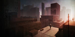 Binary City? by Wineye-ll