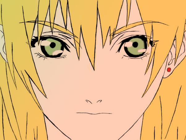 Anime girl face by AmeNoIro on DeviantArt