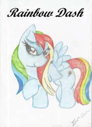 Rainbow Dash Drawing by ShiningRainbow99