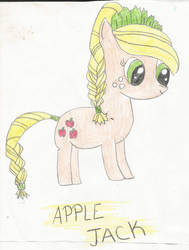 Apple Jack Drawing