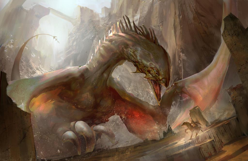 Dragon by EmanuelMardsjo