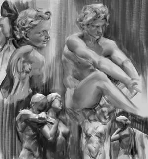 Some sculpture studies