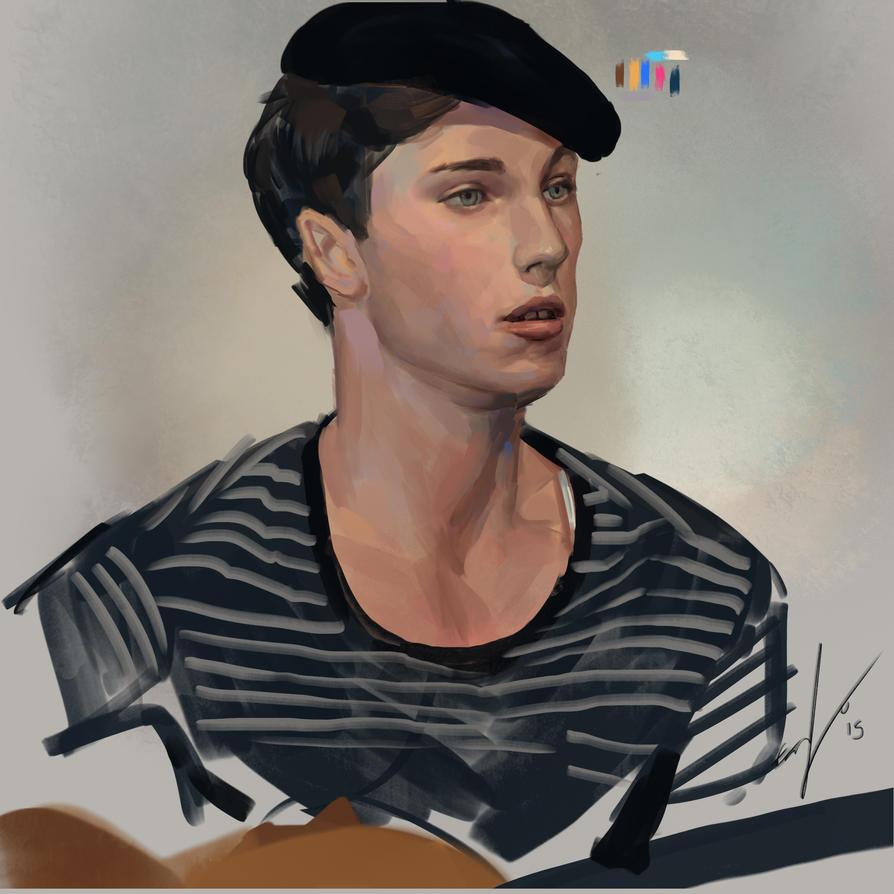 Portrait Study by EmanuelMardsjo