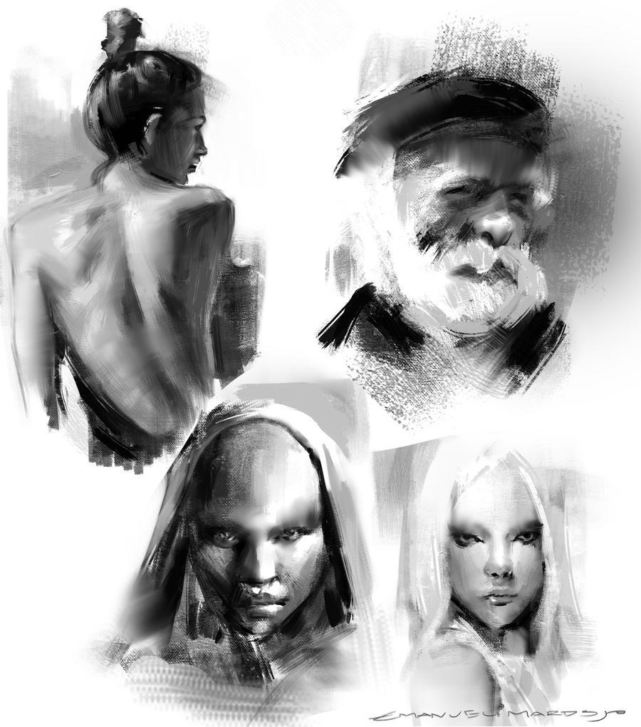 Sketches by EmanuelMardsjo