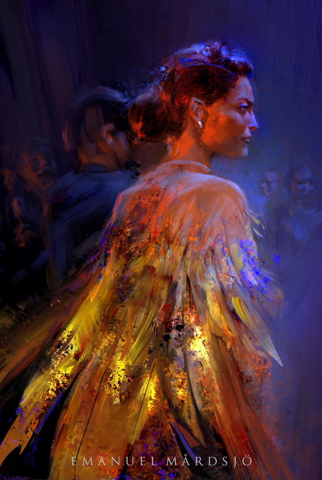 The Lady Almandine by EmanuelMardsjo