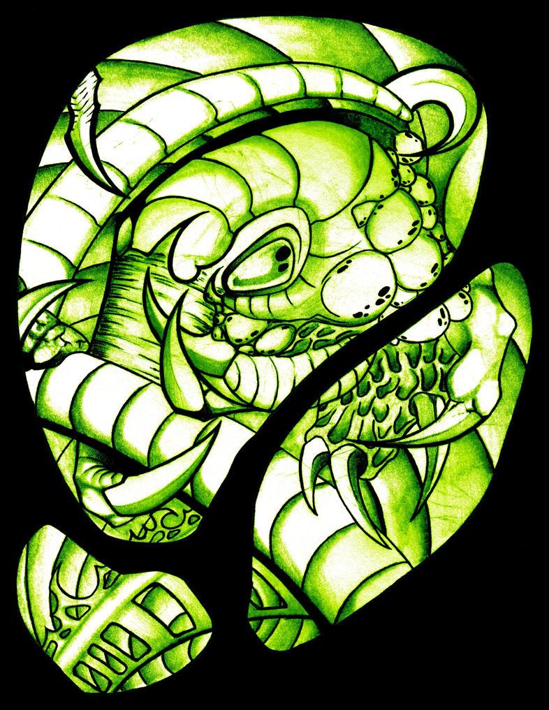 green by hydrophidian
