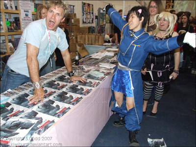 Vic Mignogna Cosplaying