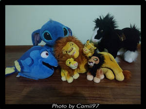 My Disney Store Plushies
