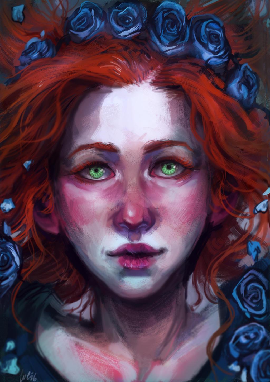COMISSION: Isabella Fell by kaiyela