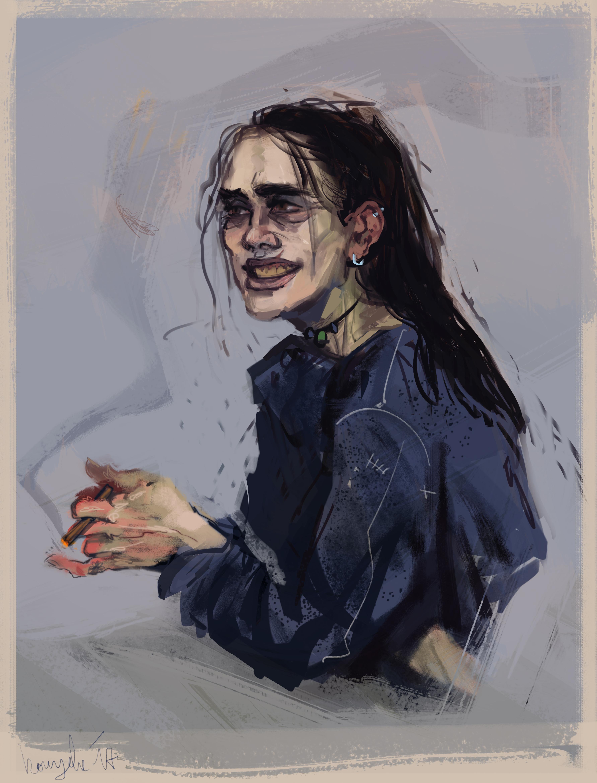 Beatrice smile by kaiyela