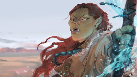 Orc lady