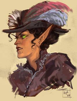 Arabella(maybe) portrait