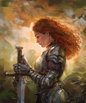 Lady and her Sword