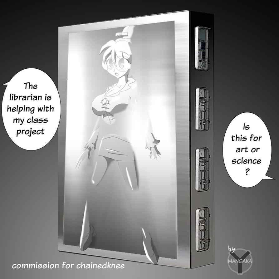Carbonite Librarian by chainedknee