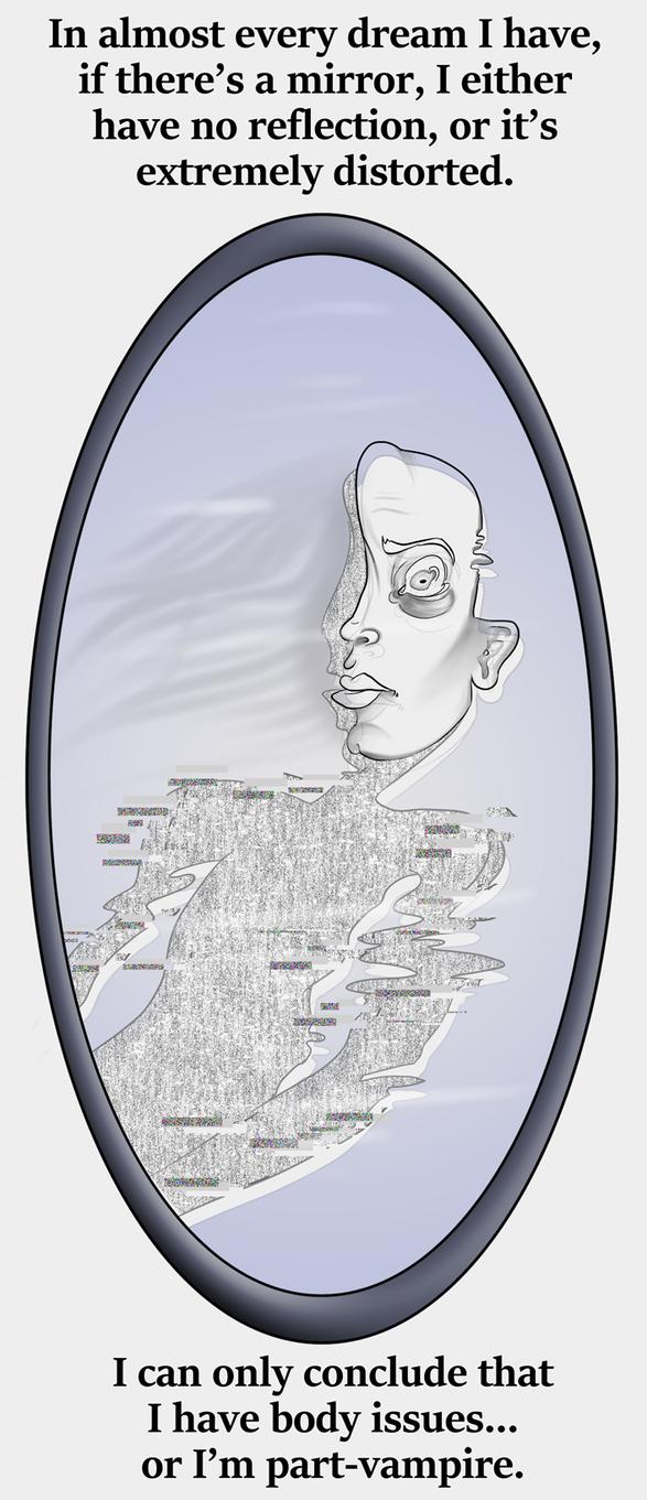 Distorted Mirror by SusieBeeca