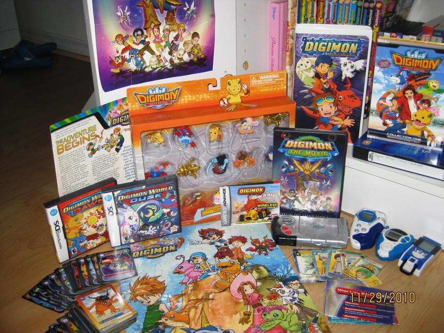 My Digimon Stuff by digital-piece