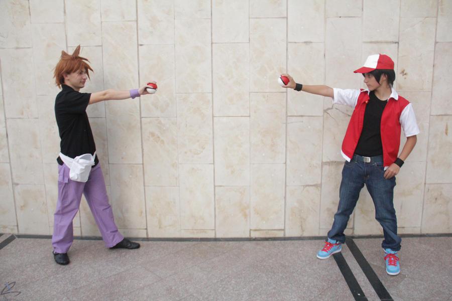 Pokemon Red-Green 05 by JustBeFriend