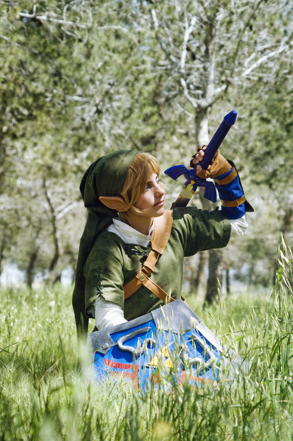 The Legend of Zelda - Link TP 01 by JustBeFriend