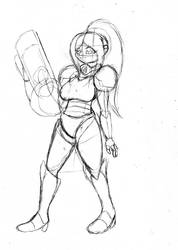 Samus Aran -sketch- by Requiem-Shade