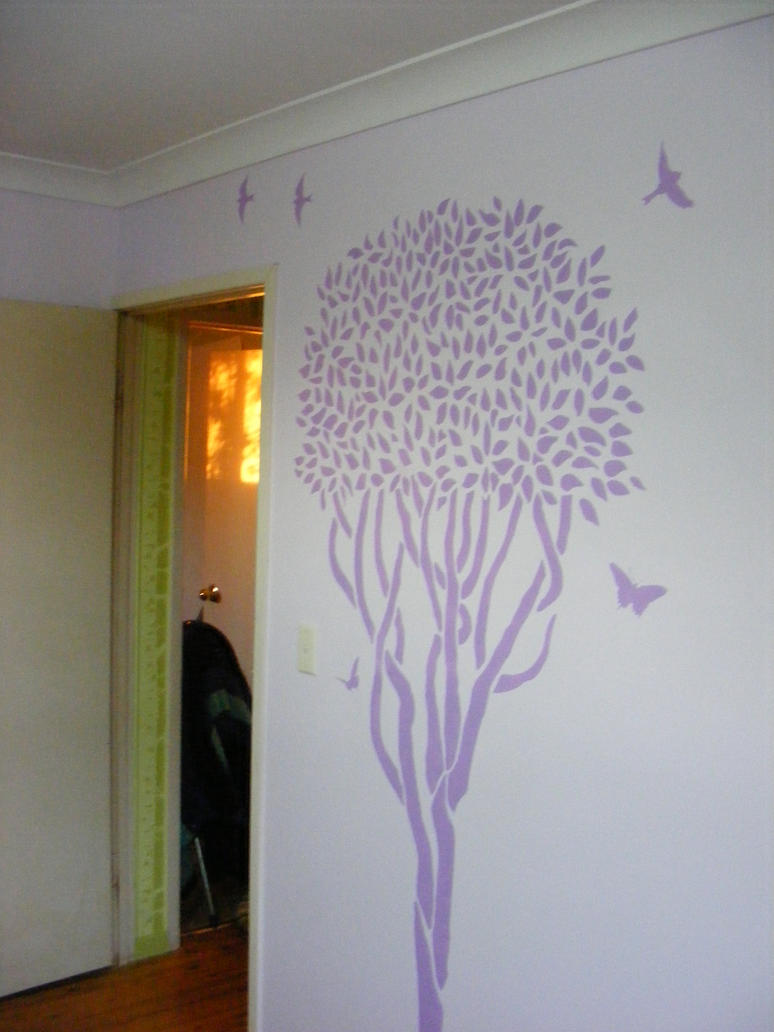 Mauve Room Stencils by Toradellin-Reserve