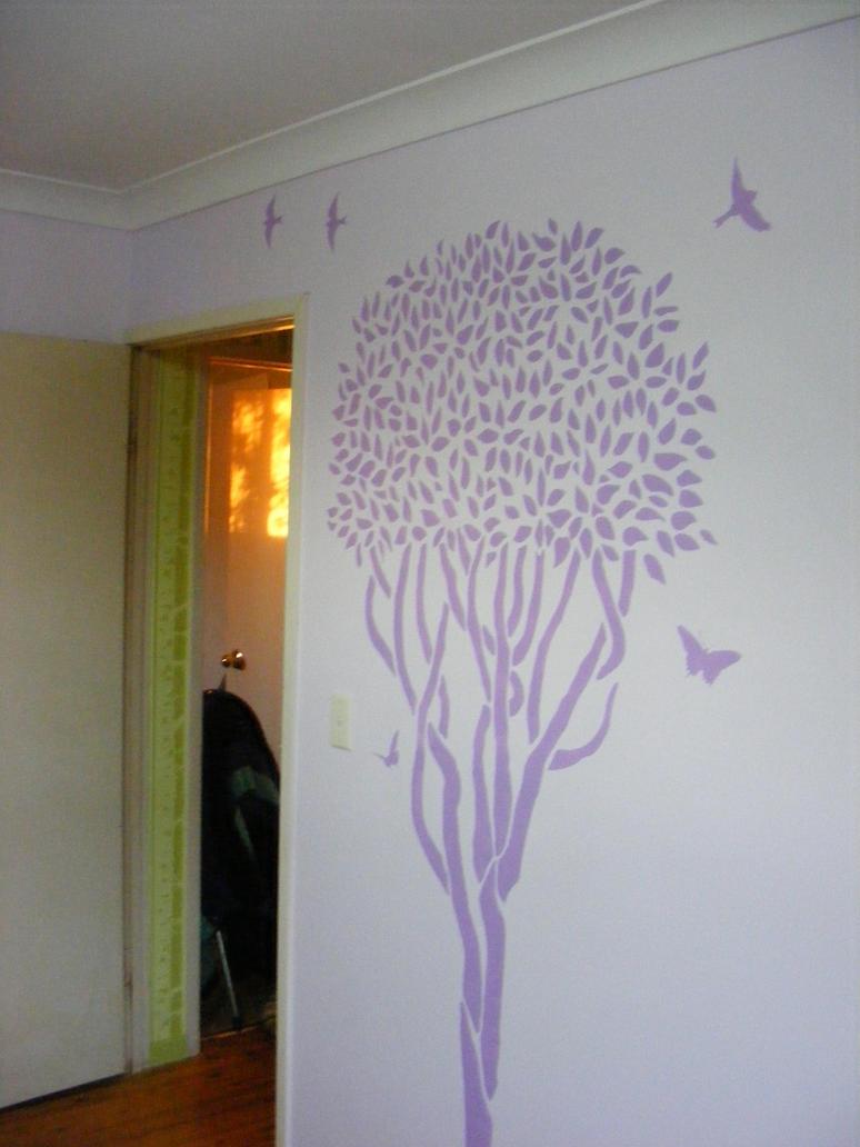 Mauve Room Stencils by Toradellin-Reserve