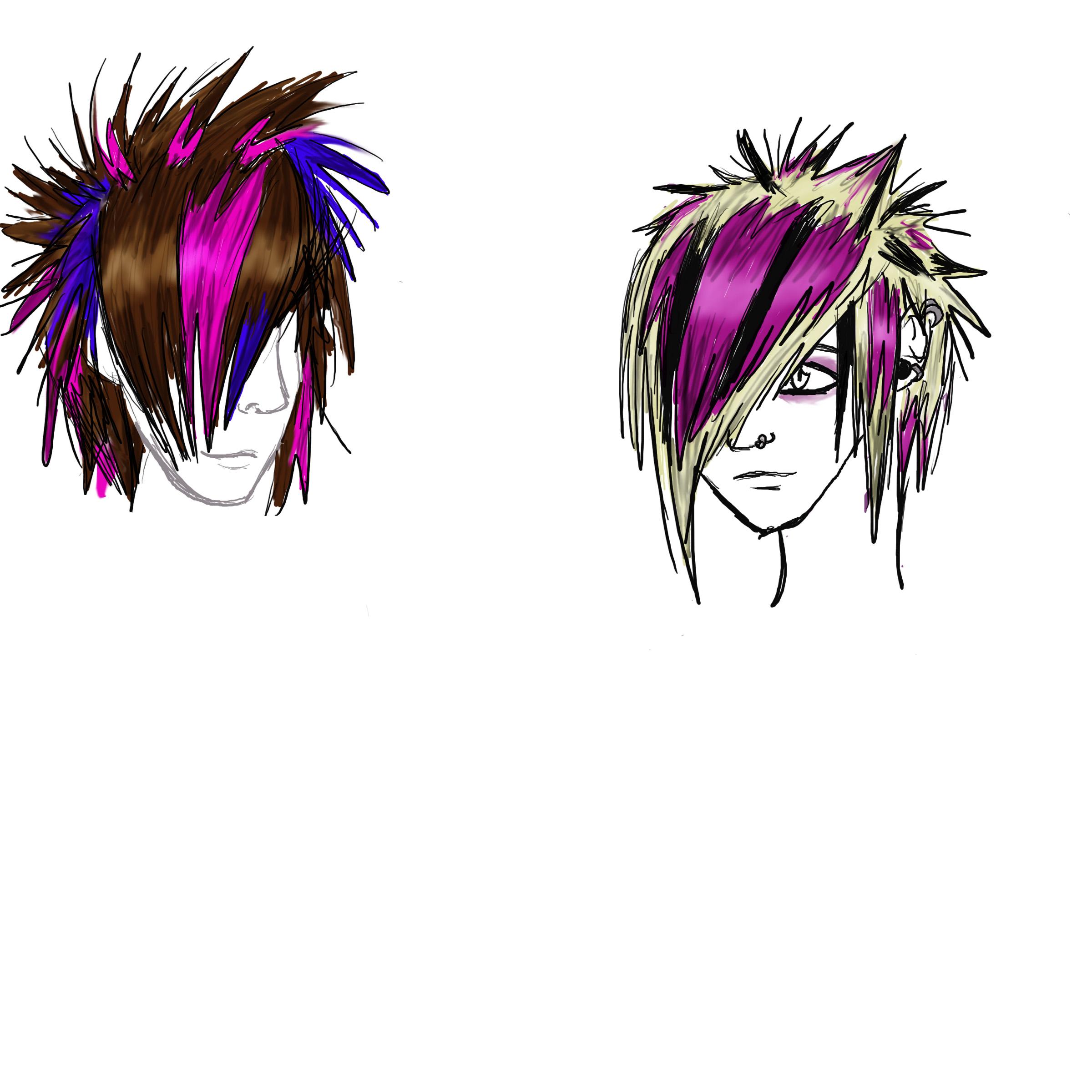 HAIRCUTS EMO