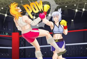 c86 Zenia vs Ryoko by SensouSanka