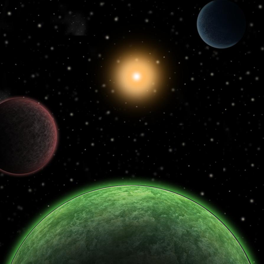 Solar system WIP by xxxxBATTERYxxxx