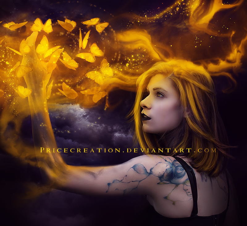Fire Juggler by PriceCreation