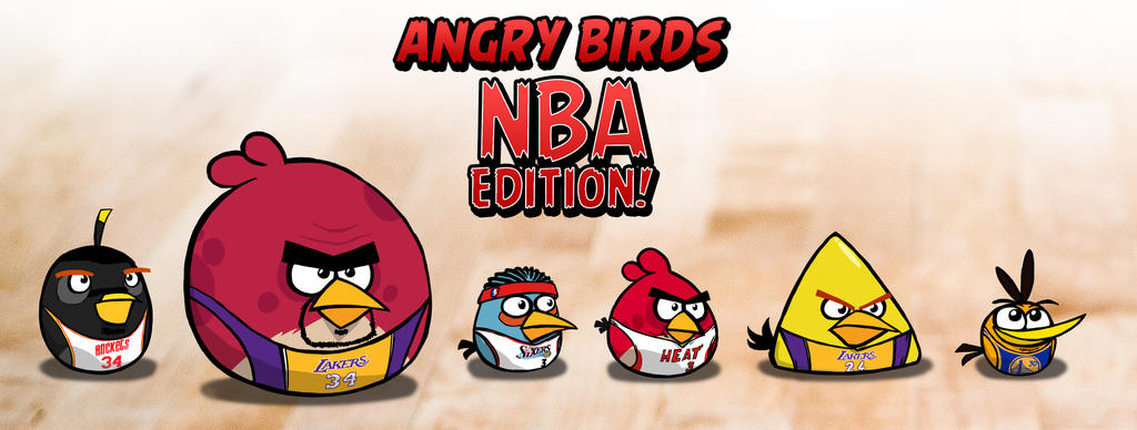 Angry Birds NBA edition! by Makian