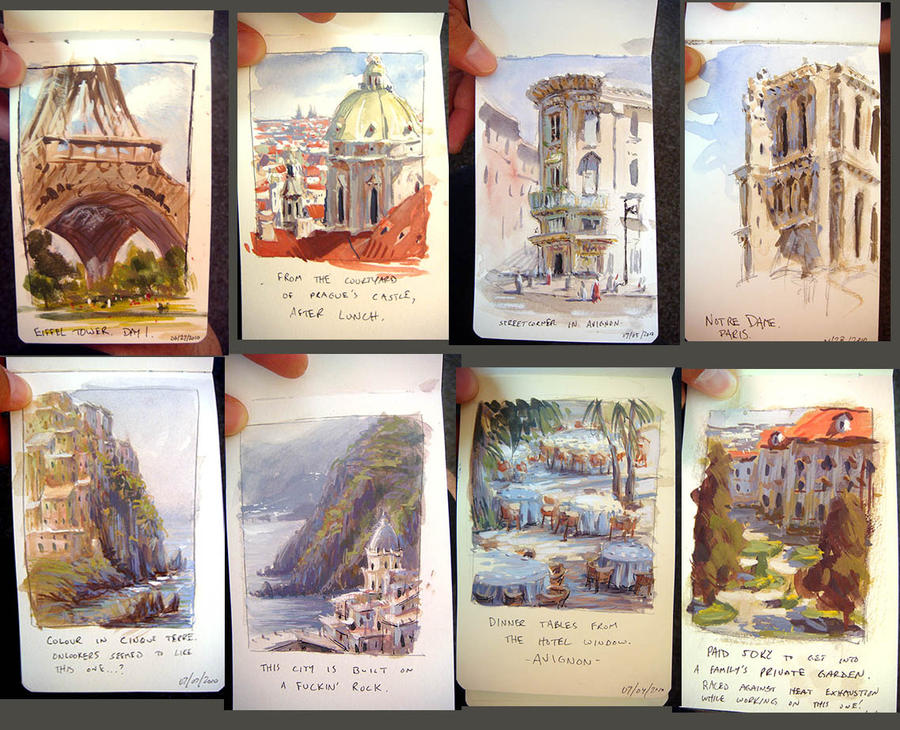 More from Europe Sketchbook by MarcoBucci