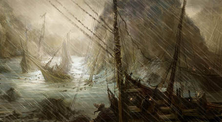 Ship Wreck by MarcoBucci