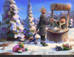 My Art Store Launched! by MarcoBucci