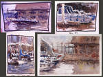 Paintings From My Outdoor Workshop
