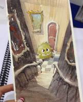 Toronto FanExpo Sketch by MarcoBucci