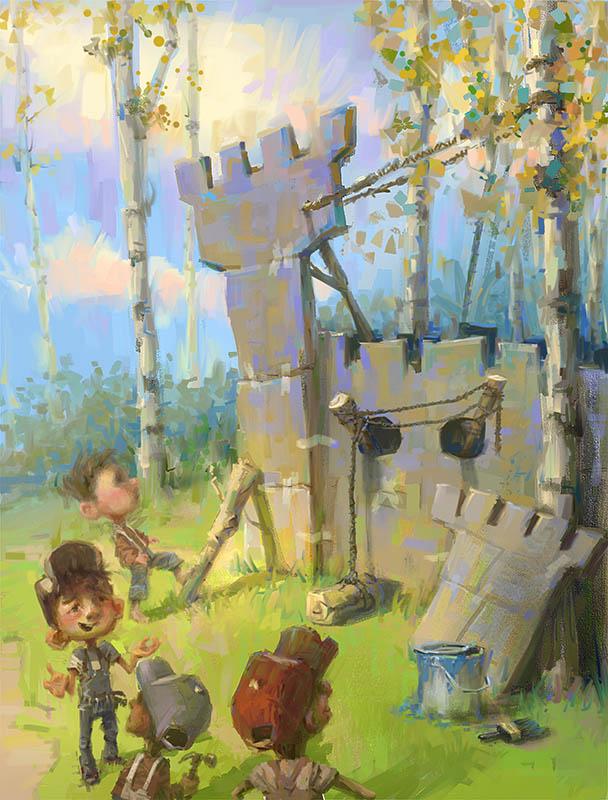 Boyhood Summer by MarcoBucci