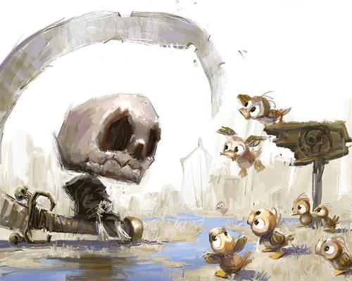 Baby Death Meets Ducks