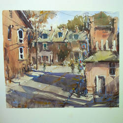Today's Street Sketch by MarcoBucci