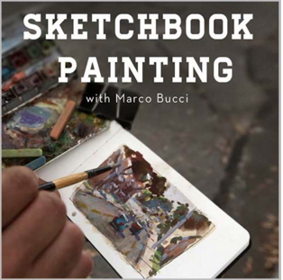 Video Class - Sketchbook Painting by MarcoBucci