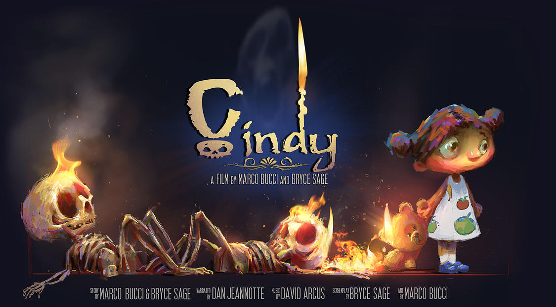 Cindy - The Animated Short by MarcoBucci