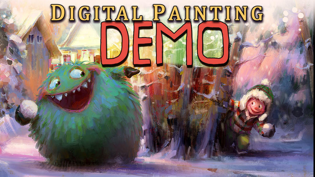 New YouTube Digital Painting Tutorial by MarcoBucci