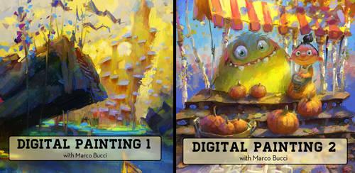 Full Digital Painting Lessons