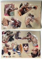 Boxing Sketches by MarcoBucci